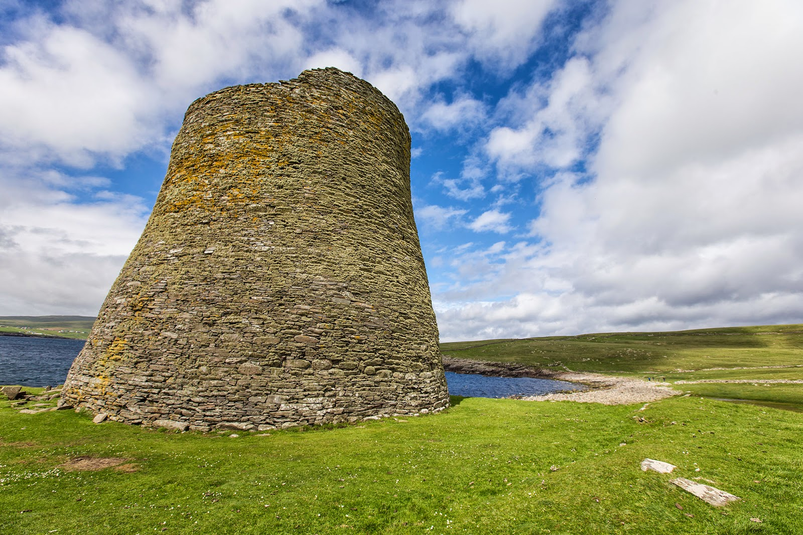 Mousa Broch, The Shetland Islands, Scotland, Britain