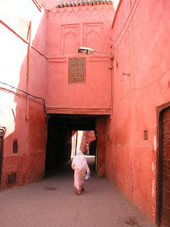 Epreuve d'observation et d'orientation dans la médina de Marrakech