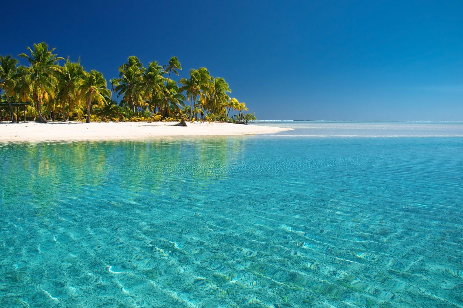 Imágenes de Playas HD: Playa Paradisiaca Wallpapers