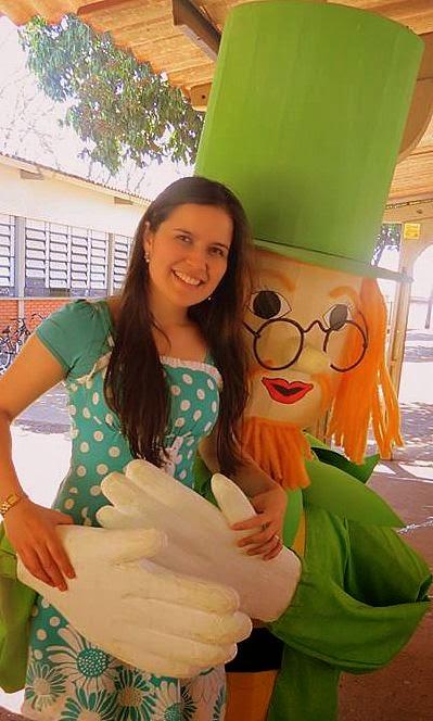 Visita à exposição Monteiro Lobato - Escola Clarice B. Rosa - Dourados/MS