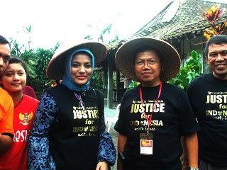 Dr. Sigid Dosen Sosiologi Hukum  Marissa Haque, di Pasca Sarjana FH-UGM, 18 Feb 2011