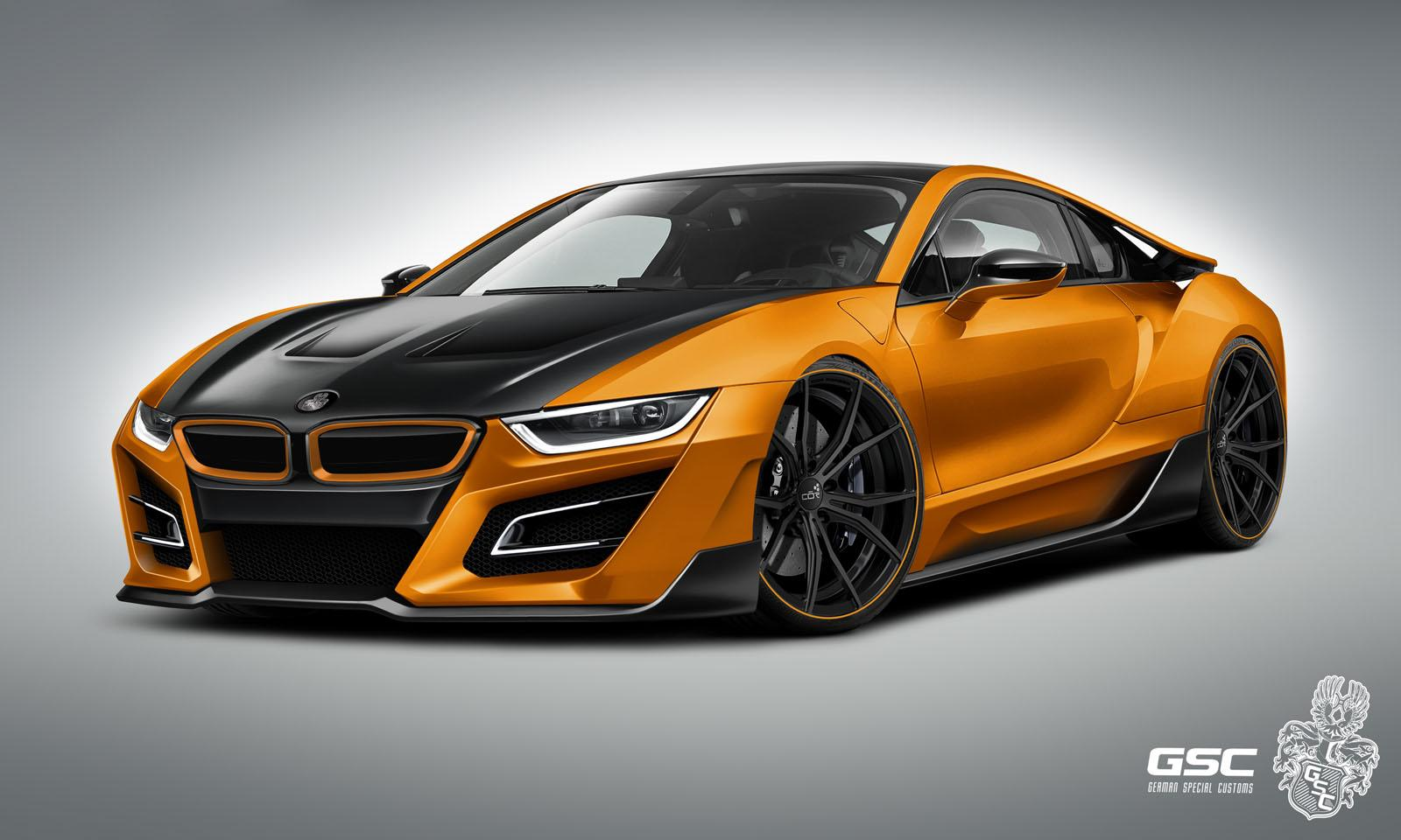 german tuner gives bmw i8 an itron makeover carscoops. Black Bedroom Furniture Sets. Home Design Ideas