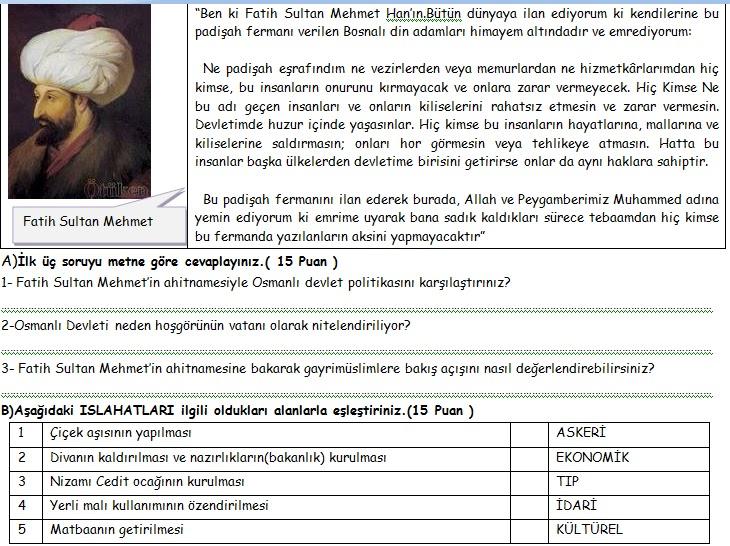 Sinif sosyal bilgiler 2 dönem 1 yazılı sinav soruları 2012