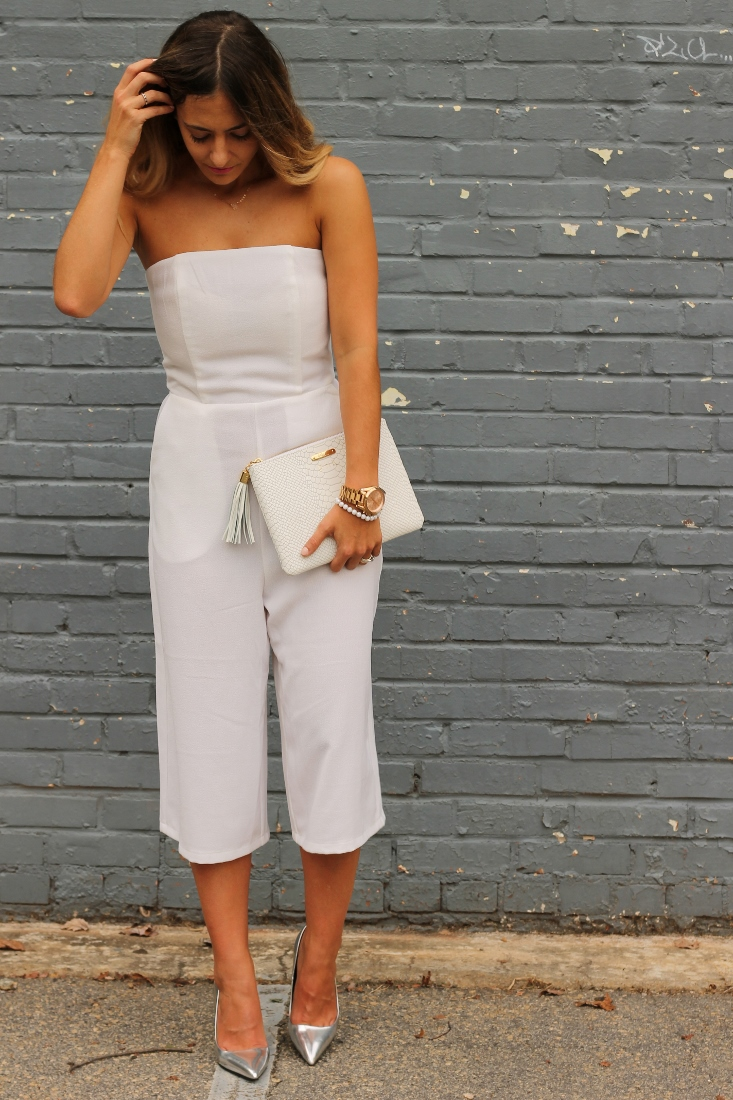 Missguided Bandeau Culotte Jumpsuit