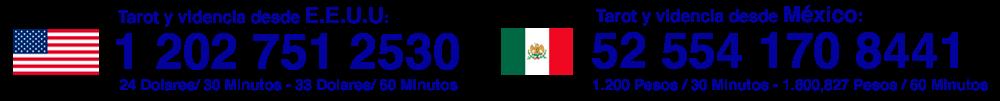 TAROT MEXICO Y ESTADOS UNIDOS