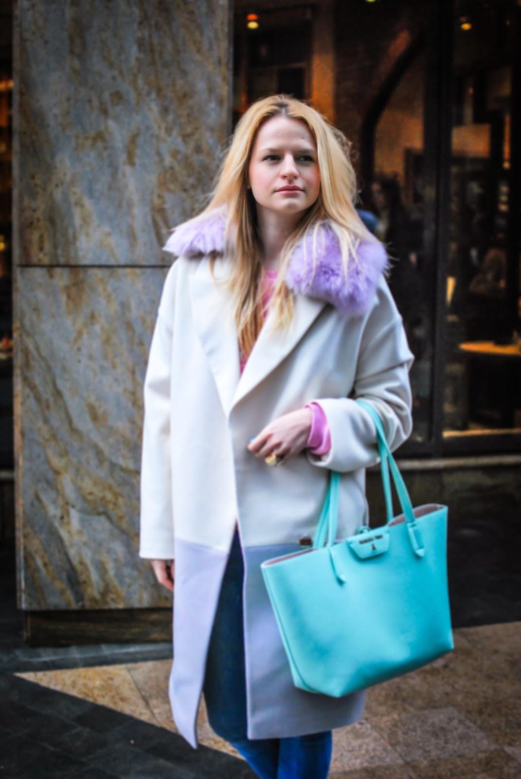 Irina Pavlova, outfit, pastel trend, spring trend,streetstyle