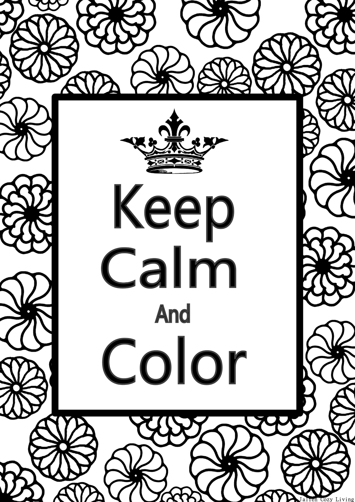 calming coloring pages for children - photo#8