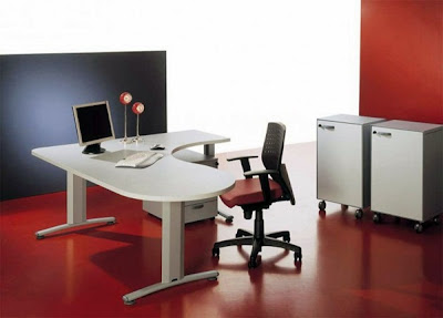 interior kantor modern-kontras