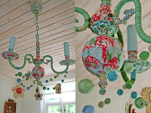 reciclar una lampara