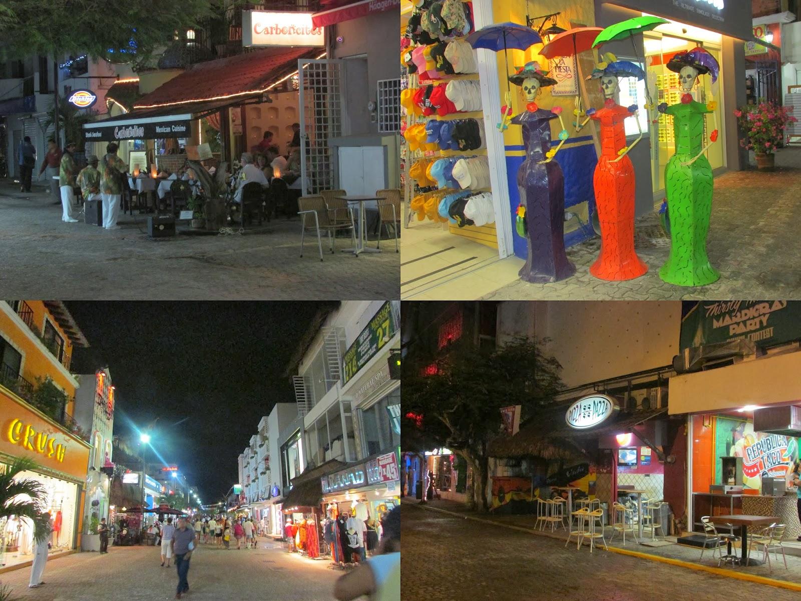 Playa Del Carmen, México, Caribe, 5ª Avenida, centrinho