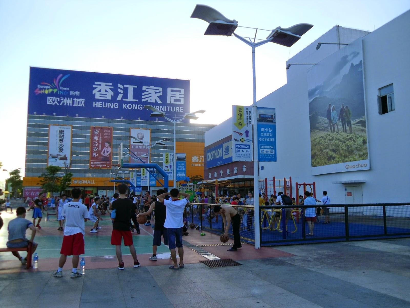 Prática de esportes na China