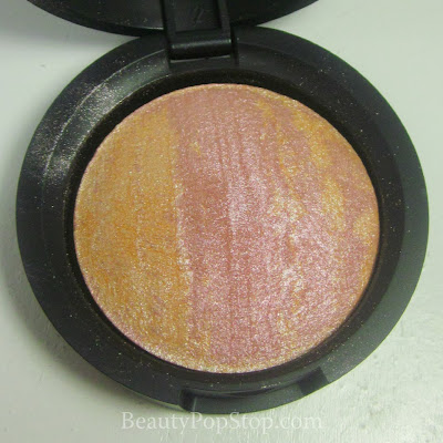 QVC Laura Geller Baked Stackable Macaroons Baked Brulee Highlighter in Honey Lavender Review