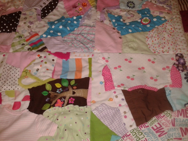 quilts by kate ™ Jayden s Crazy Baby Clothes Quilt