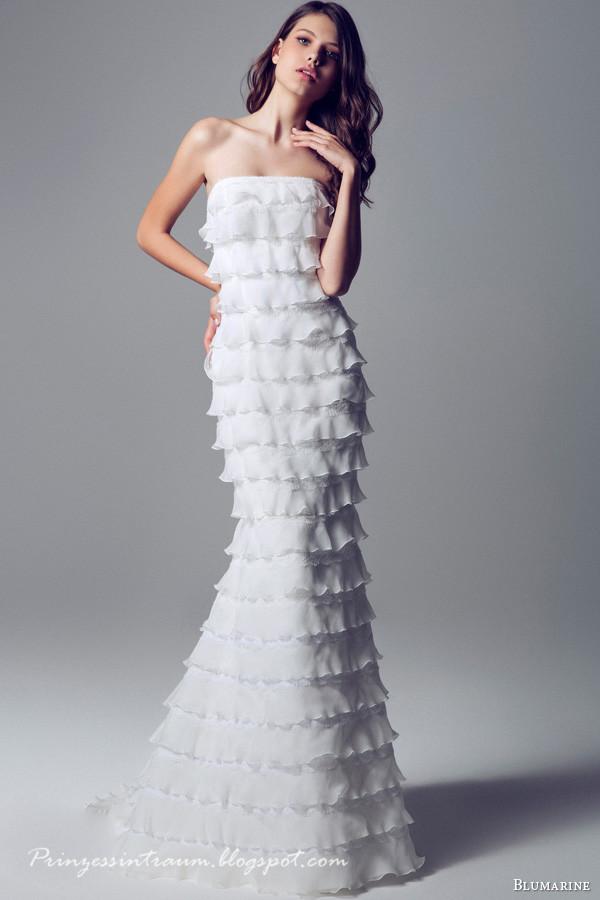 Blumarine 2014 bridal collection