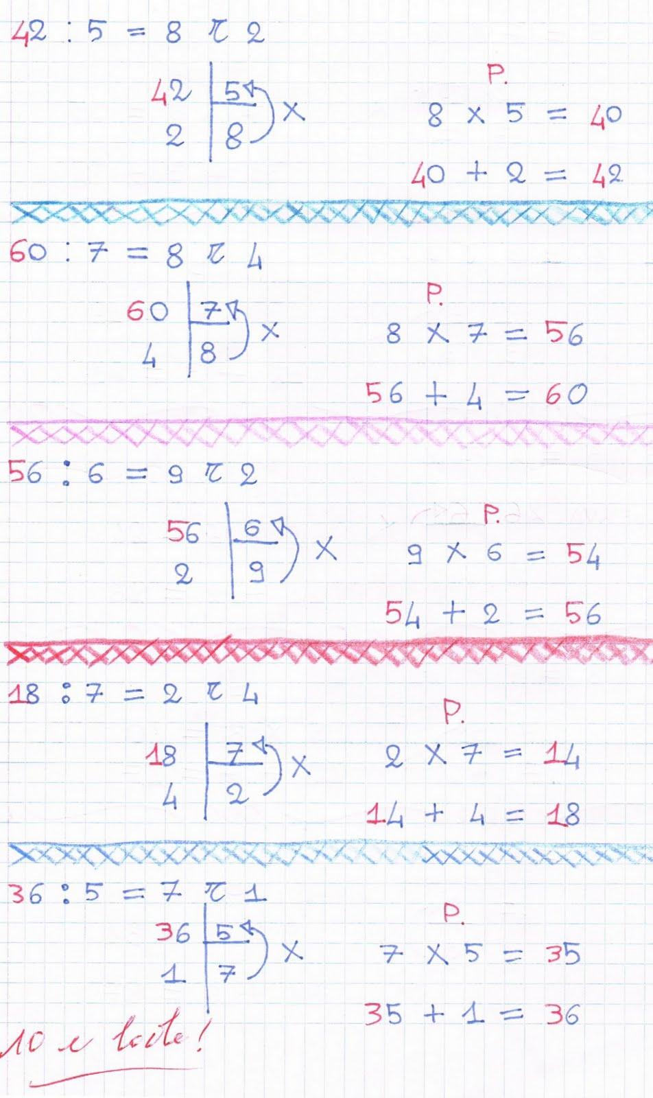 Popolare Divisioni con il resto: esempio, prova, esercizi FH25