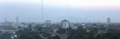 Kota Cirebon Skyline ke arah barat th. 2009