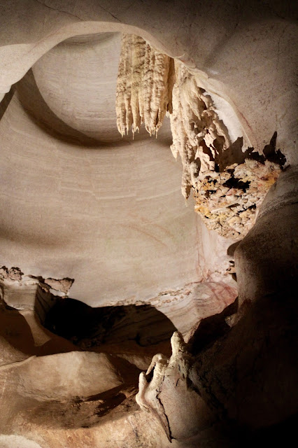Limestone Cave Formation-Longhorn Cavern-Longhorn Cavern State Park-Burnet, Texas