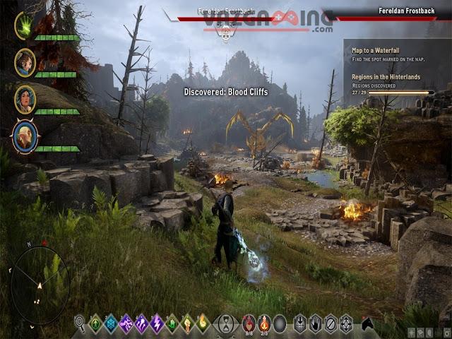 Dragon Age Inquisition Gameplay 2 vazgaming