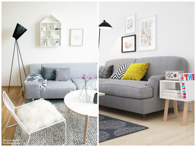 Sillones grises para todos la bici azul blog de for Decoracion salon con sofa gris