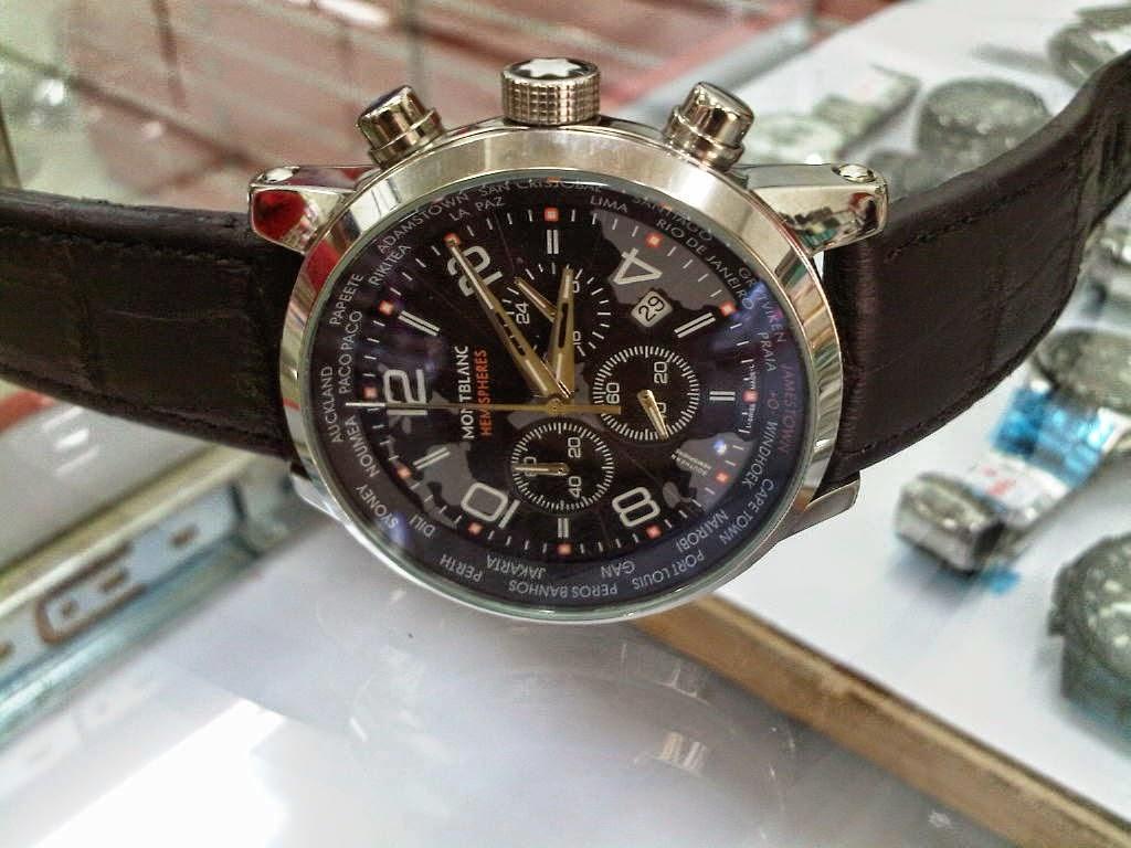 Replica watches quality - Replica Watches Quality Type Replica Item Grade Aaa Brand Mont Blanc Model Chronograph Blue Dial