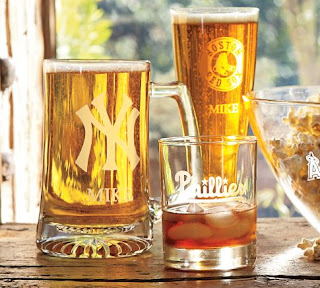 MLB Glassware (Monogramming available)