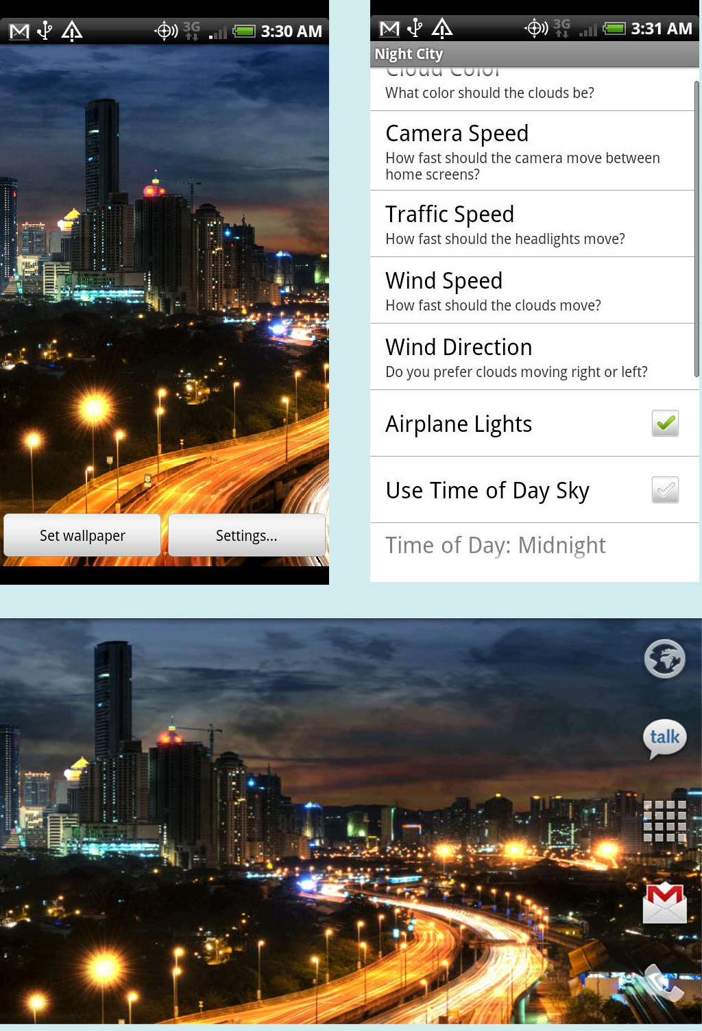 City At Night Live Wallpapers Apk Download Free Hvga Wvga Qvga Screen