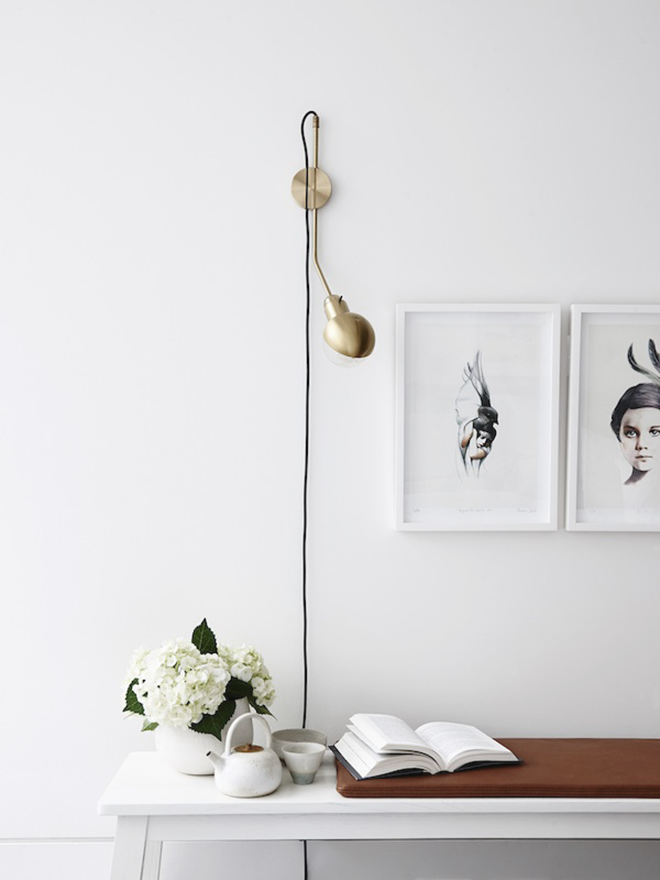 Details in a white Melbourne apartment