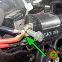 kabel massa cdi dan koil relatif mudah karena tinggal dilangsungkan ke