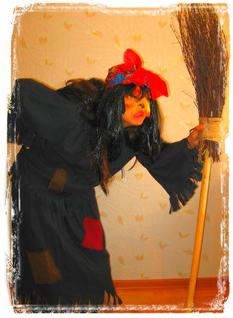 Как сделать костюм бабы-яги фото