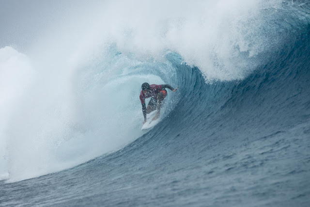 12 Jeremy Flores Billabong Pro Tahiti Foto WSL Stephen Robertson