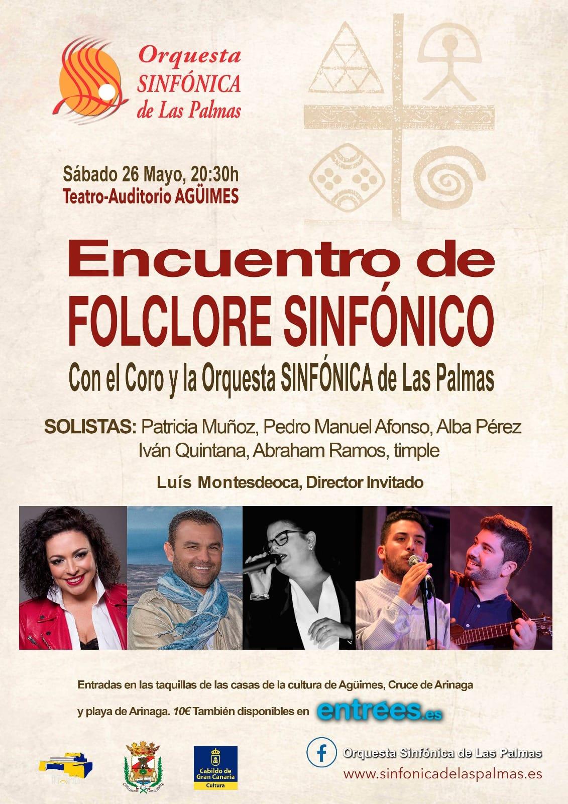 Encuentro de Folclore Sinfónico en Agüimes