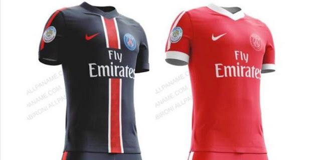 Des images de ce que pourraient être les tuniques du PSG lors de la saison 2016-2017 ont fuité. Le maillot domicile n'évoluerait que très peu alors que le rouge devrait remplacer le blanc comme couleur dominante du maillot extérieur.