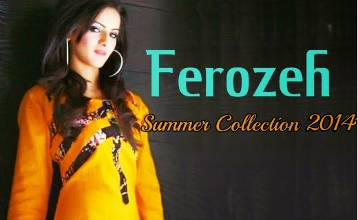 Ferozeh Summer Collecion 2014