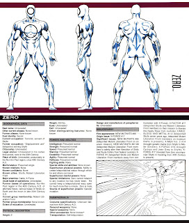 Zero Ficha marvel comics