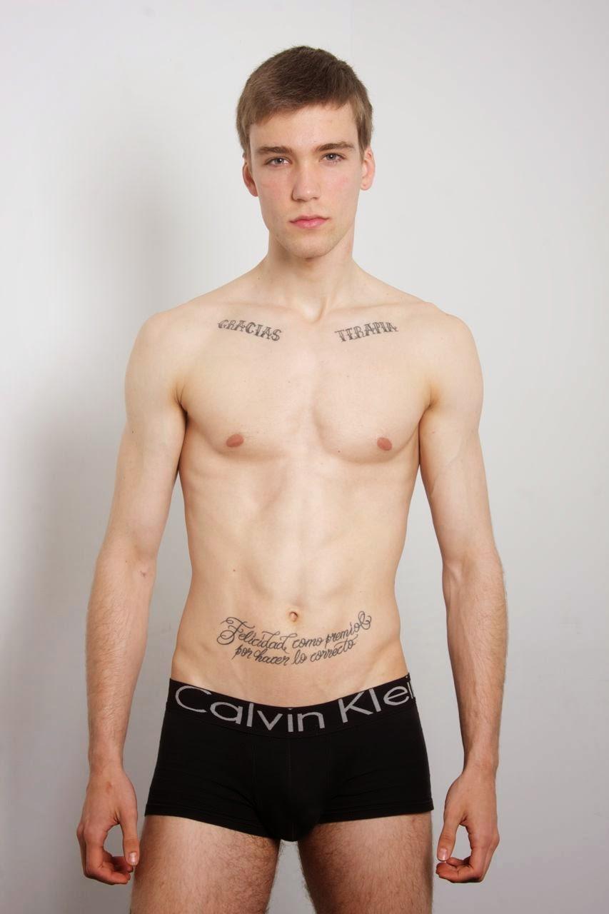 Spanish model Marc Luloh