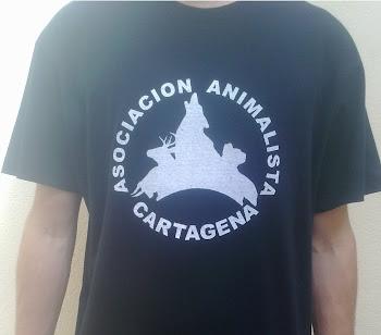 """Camisetas """"Animalistas Cartagena"""""""