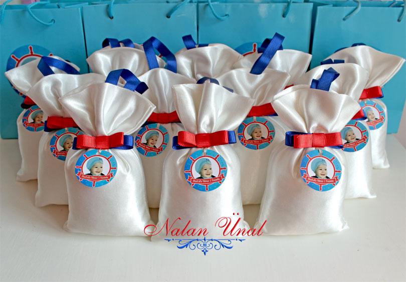 marin deniz nautical temali hediyelik lavanta keseleri