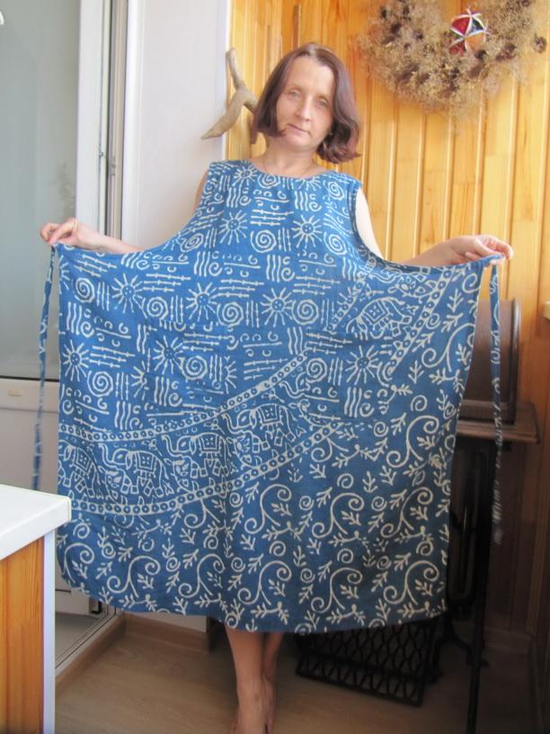 Домашнее платье пошить