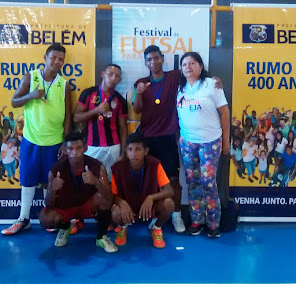 Festival de Futsal para a EJA