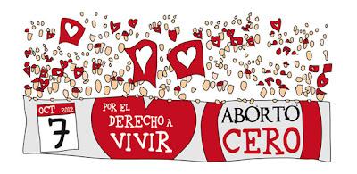 Concentración por el Derecho a Vivir, Aborto Cero