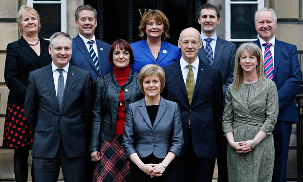 Equality in the Scottish Cabinet