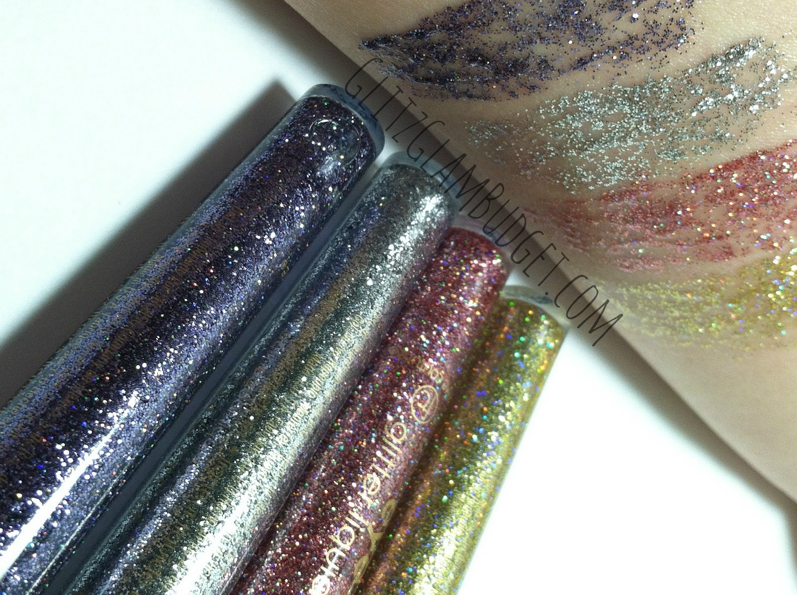 Sally Beauty Supply Liquid Glitter Eyeliners