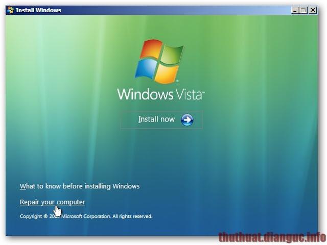 khởi đông windows bị đen màn hình