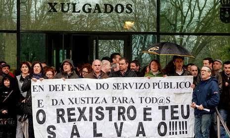 No a la privatizaci n del registro civil abril 2014 for Registro de la propiedad lugo