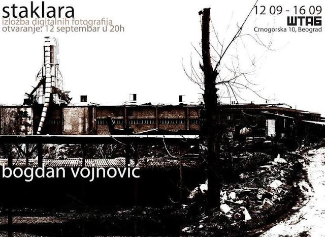 "Izložba digitalnih fotografija ""Staklara"" Bogdana Vojnovića"