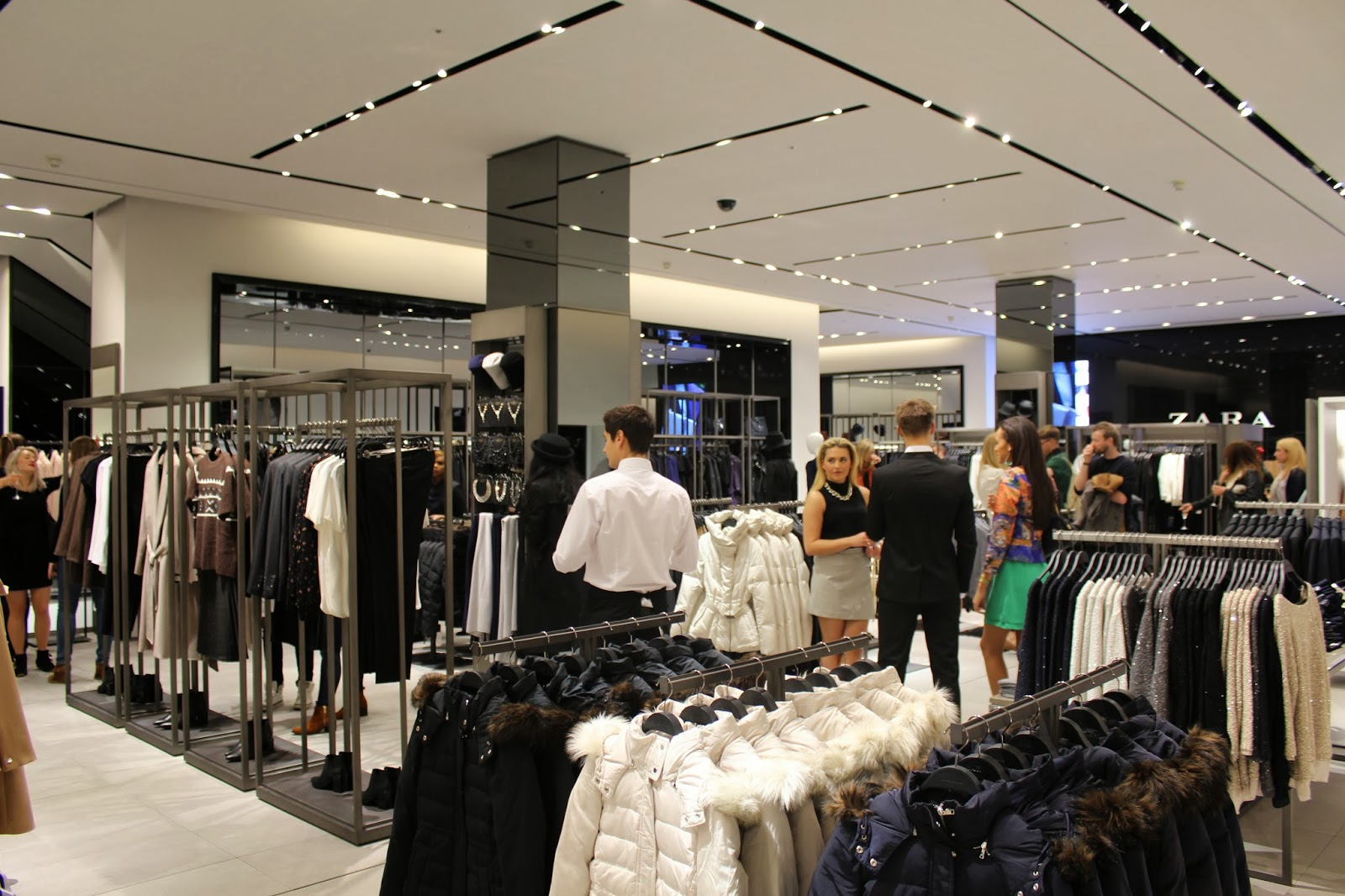 Zara Manchester Launch Party