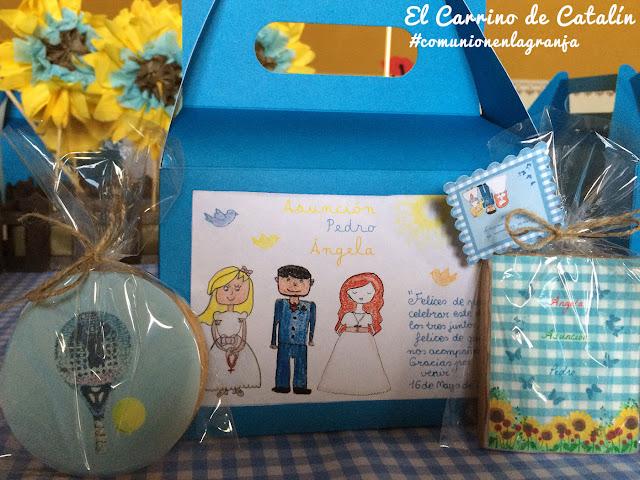 Decoración de bodas y comuniones en Sevilla y Badajoz mesa de niños