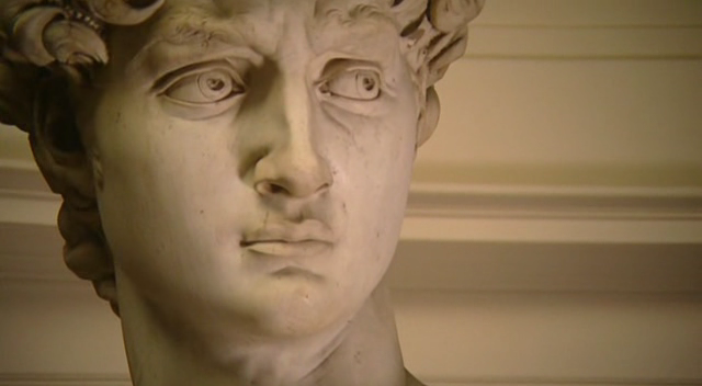 face de david- michelangelo