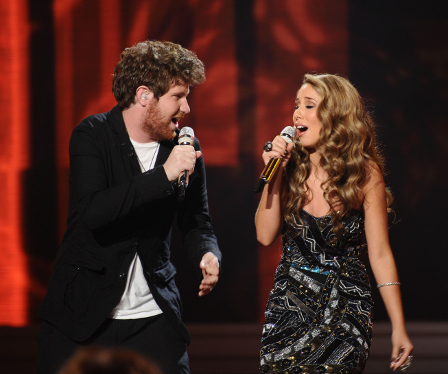american idol haley dress. American Idol: Haley Reinhart