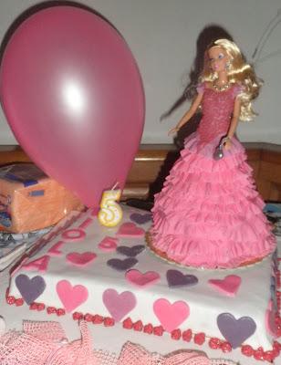torta barbie Patty Cakes